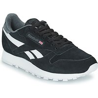 Reebok Classic  CL LEATHER MU  men's Shoes (Trainers) in Black