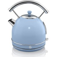 SWAN Retro SK34021BLN Traditional Kettle - Blue, Blue