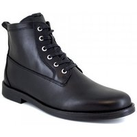 J.bradford  Low Boots  Black Leather JB-AVERY21  men's Mid Boots in multicolour