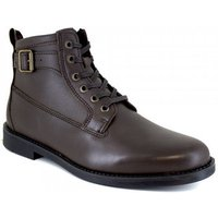 J.bradford  Low Boots  Brown Leather JB-BARRY22  men's Mid Boots in multicolour