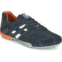Geox  UOMO SNAKE  men's Shoes (Trainers) in Blue