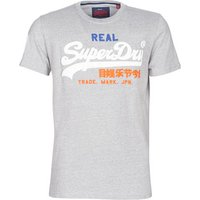 Superdry  VINTAGE LOGO TRI TEE  men's T shirt in multicolour