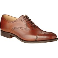 Church's Toronto Leather Semi Brogue Oxford Shoes, Walnut