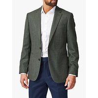 Chester by Chester Birdseye Suit Jacket, Green