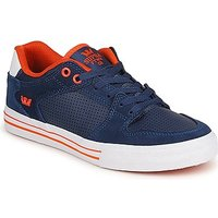 Supra  VAIDER LOW  men's Shoes (Trainers) in Blue