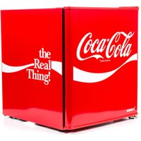 HUSKY Coca-Cola HUS-HU252 Mini Fridge - Red, Red
