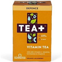 Vitabiotics TEA+ Vitamin Tea Defence - Orange & Blueberry