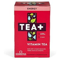 Vitabiotics TEA+ Vitamin Tea Energy - Raspberry & Pomegranate