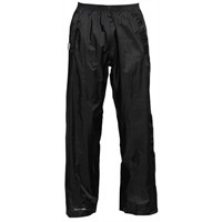 Trespass Mens Pak Up Trousers Black