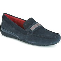 Geox  UOMO SNAKE MOCASSINO  men's Loafers / Casual Shoes in Blue