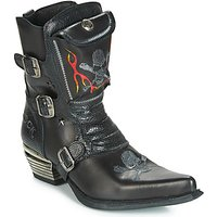 New Rock  M-WST024-S3  men's High Boots in Black