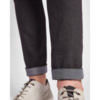 Slim Fit Textured Chinos