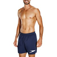 Speedo Sport Solid 16 Watershorts, Navy/White