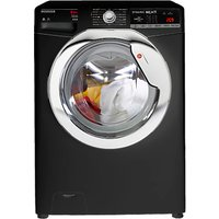 Hoover Dynamic Next Advanced WDXOA 485ACB Freestanding Washer Dryer with NFC, 8kg Wash/5kg Dry Load,