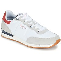 Pepe jeans  TINKER BASIC NYLON  men's Shoes (Trainers) in White