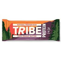 Tribe Natural Protein Bar Choc Peanut Butter 50g