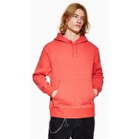 Mens Red Classic Hoodie, Red
