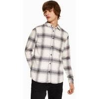 Mens Only & Sons White Brushed Shirt, White