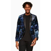 Mens Twisted Tailor Blue 'Highway' Blazer, Blue