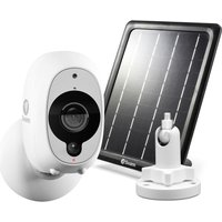 SWANN SWWHD-INTCMSOLSTD-UK Full HD 1080p Security Camera, Mount and Solar Panel Bundle