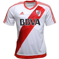 adidas Mens CARP River Plate Home Shirt White/Power Red