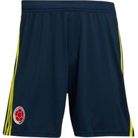 adidas Mens FCF Colombia Home Shorts Collegiate Navy/Bright Yellow