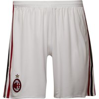 adidas Mens AC Milan Football Shorts White/Victory Red/Black