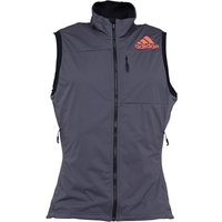 adidas Mens Xperior Running Vest Grey Five/Energy