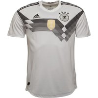 adidas Mens DFB Germany Authentic Home Shirt White/Black