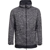 adidas Mens Nuvic Hybrid 2 Jacket Solid Grey/Black/White