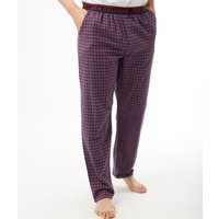 Ben Sherman Mens Bardof Woven Lounge Pants Navy Check