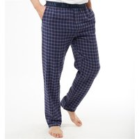 Ben Sherman Mens Barclay Woven Lounge Pants Navy/Red