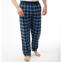 Ben Sherman Mens Babson Woven Lounge Pants Black/French Blue