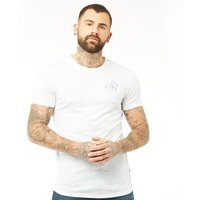 Crosshatch Mens Lanebrow T-Shirt White