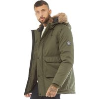 DFND London Mens Austin Parka Khaki