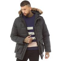 DFND London Mens Dino Parka Black