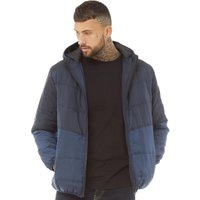 DFND London Mens Evoke Padded Jacket Dark Navy/True Navy
