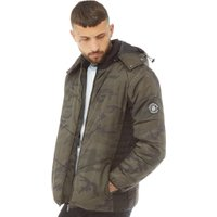 DFND London Mens Ferrari Padded Jacket Camo