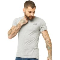 Firetrap Mens Trek T-Shirt Grey Marl