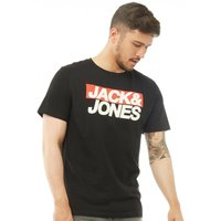 JACK AND JONES Originals Mens Troll T-Shirt Premium Black