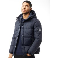 JACK AND JONES Mens Jorbeige Puffer Jacket Total Eclipse