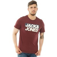 JACK AND JONES Originals Mens Troll T-Shirt Port Royale