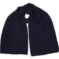 JACK AND JONES Mens DNA Knit Scarf Navy Blazer