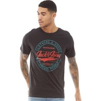 JACK AND JONES Originals Mens Art Palm T-Shirt Tap Shoe