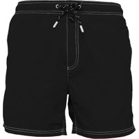 Kangaroo Poo Mens Plain Taslan Swim Shorts Black