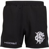 KooGa Mens Barbarians Antipodean II Performance Rugby Shorts Black