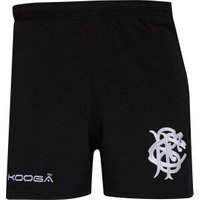 KooGa Mens Antipodean 2 Performance Rugby Shorts Black