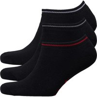 Money Mens Sig Ape Three Pack Socks Black/High Risk/Red/Black/White/Black