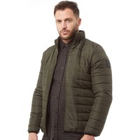 French Connection Mens Row 2 Funnel Jacket Khaki