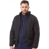 French Connection Mens Row 2 Funnel Jacket Marine